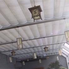 上海阳光房顶部遮阳天棚帘,珩杰厂商直销质优价廉图片