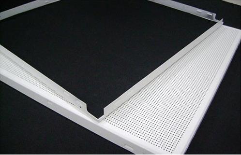 欧佰铝天花板 微孔铝扣板  吸音铝扣板天花 铝扣板20平方米起代发