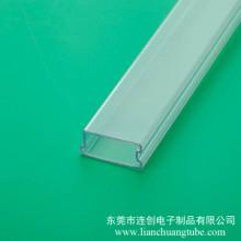 合肥电子元器件包装电容包装管pvc料管模块专用管简牛连接器包装管图片