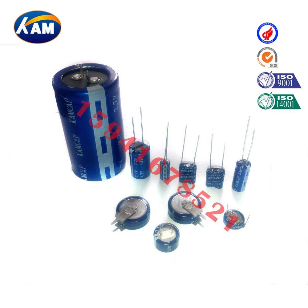优质环保扣式法拉电容供应超级电容