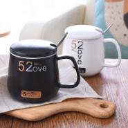 520早餐情侣杯陶瓷马克杯图片