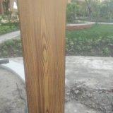 供应外墙金属仿木纹漆施工|钢架钢材上做出仿木纹效果装饰