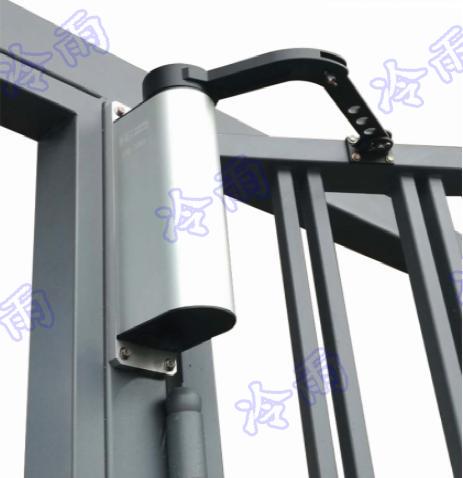 北京小区开门机厂家 人行通道门电动闭门器 冷雨庭院自动平开门