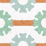 水泥基磨石地坪 无缝水磨石的应用前景及创意造型