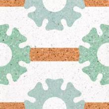 水泥基磨石地坪 无缝水磨石的应用前景及创意造型图片