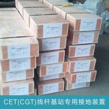 厂家直销 CET(CGT)线杆基站专用接地  镀锡紫铜排 接地专用紫铜排图片