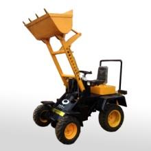 山西酒厂用电动小铲车电动装载机图片