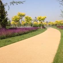 彩色透水混凝土地坪 透水混凝土优点及应用范围