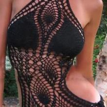速卖通亚马逊 手工钩花沙滩性感比基尼 镂空时尚连体套装比基尼