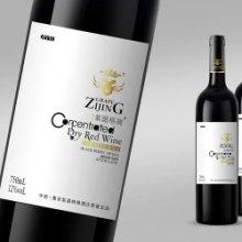 澳洲红酒酒标深圳包装设计印刷标签报价