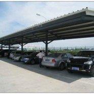 户外钢膜结构车棚蓬停车棚汽车棚蓬图片