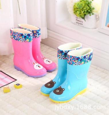 新款高筒中大儿童雨鞋雨靴卡通学生图片/新款高筒中大儿童雨鞋雨靴卡通学生样板图 (4)