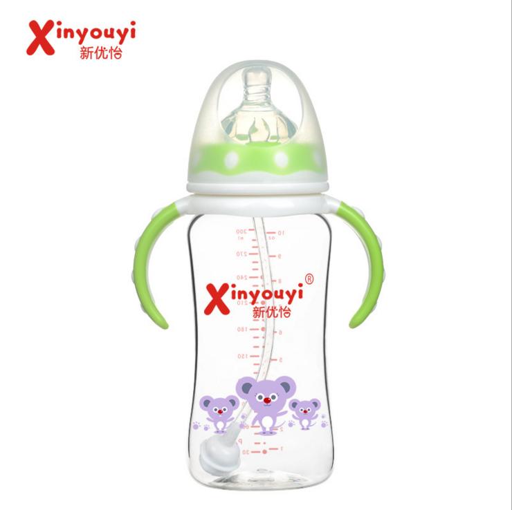 厂家直销弧形宽口径PA进口材质婴儿奶瓶耐高温抗摔宝宝奶瓶环保型 环保型奶瓶 厂家直销婴儿奶瓶 奶瓶生产厂家 婴儿奶瓶批发
