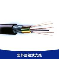 厂家直销 室外层绞式光缆 GYTS-8B1松套层绞式单模架空通信光缆8芯