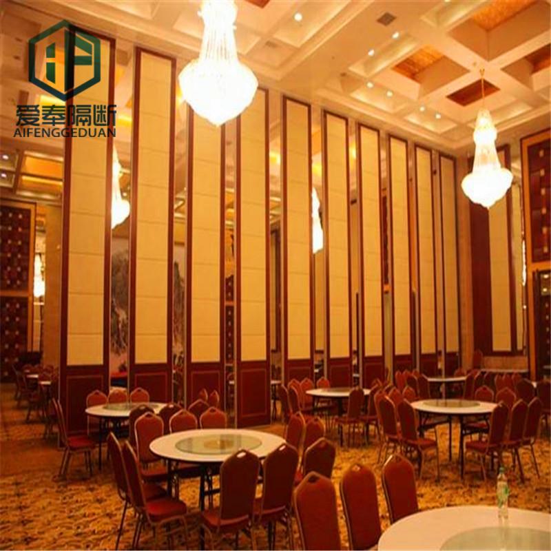 长沙酒店移动屏风隔断 活动隔断墙 饰面多样化欢迎咨询厂家直销