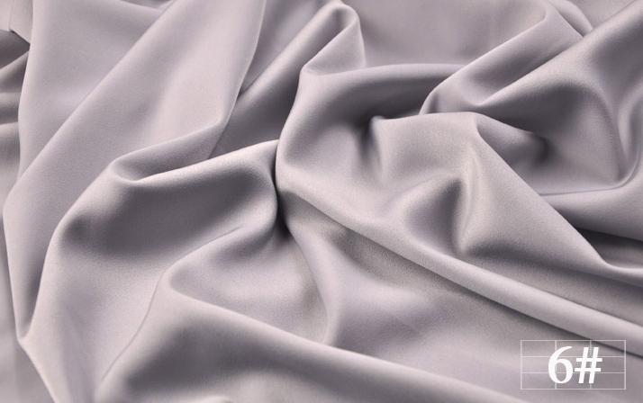 绸缎布料涤纶时装仿重磅真丝冰绸布料缎面布料