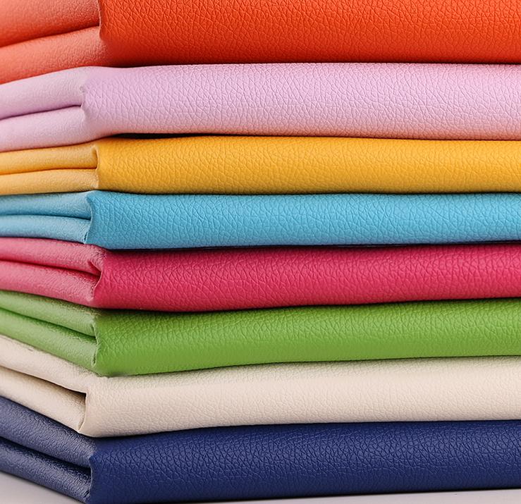 荔枝纹布料皮革面料软包沙发布料PU皮面料荔枝纹人造革