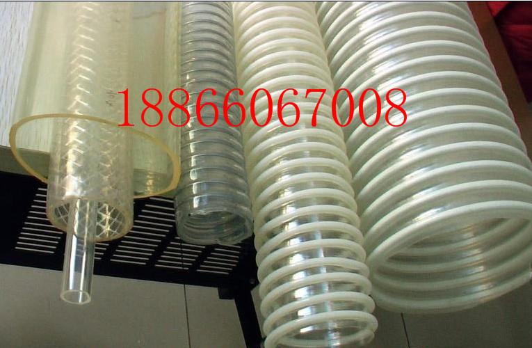 大口径不含塑化剂PU塑筋管内壁平滑管,食品输送管厂家                  不含塑化剂PU塑筋管内壁平滑
