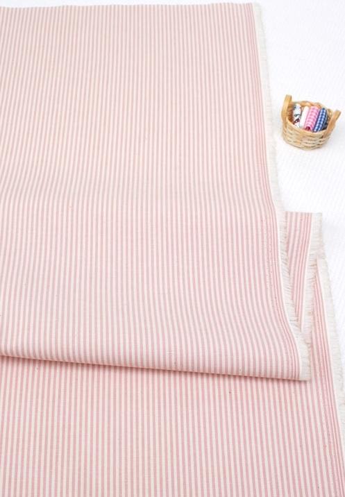 纯棉布料格子布料居家布艺窗帘床品面料条纹布料diy布料