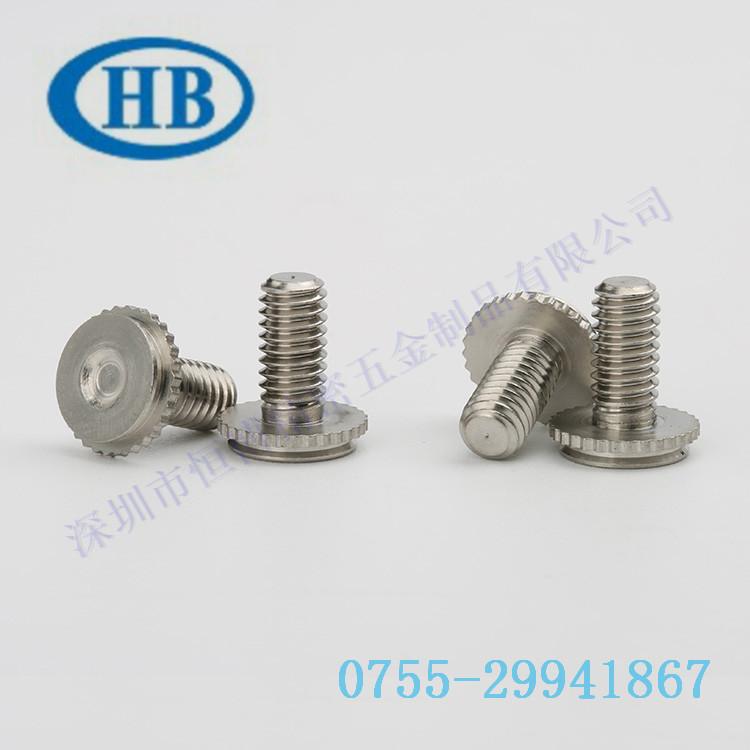 不锈钢埋头螺钉压铆螺丝压铆螺栓M3*L