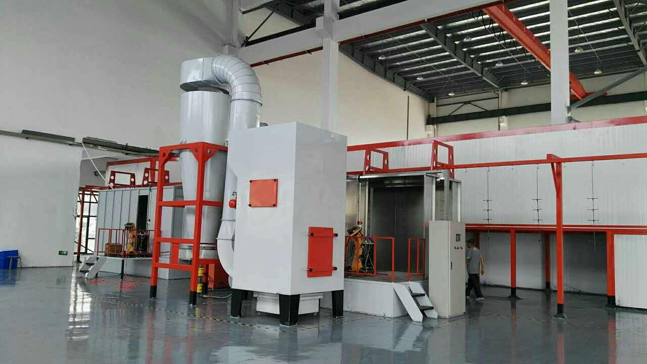 设计定制金属表面喷涂设备,高效大旋风进口滤芯环保高效节能