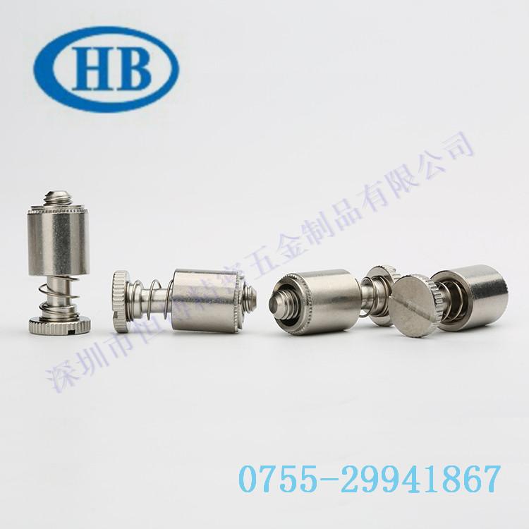 广东省松不脱螺钉弹簧螺丝面板螺钉紧固件螺丝PFC2-M6-04 弹簧螺钉 手拧螺钉