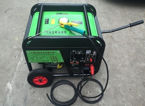 250A汽油发电电焊机后备功率