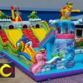 批发儿童充气城堡 充气蹦蹦床直销 儿童充气大滑梯 大型充气玩具厂