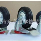 厂家直销批发零售3寸平板边刹扁轮 家具脚轮 万向轮