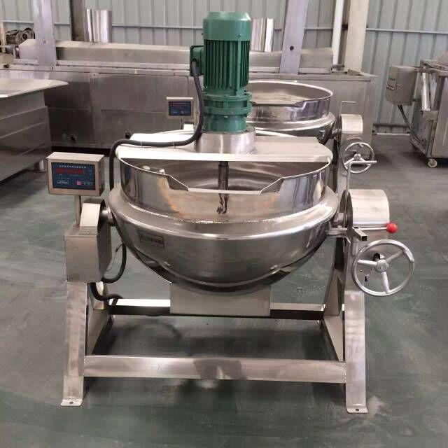 100升至600升定制型电加热全自动凉粉机