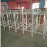 儿童铁床上下铺铁床午托床定做热线:18024349618