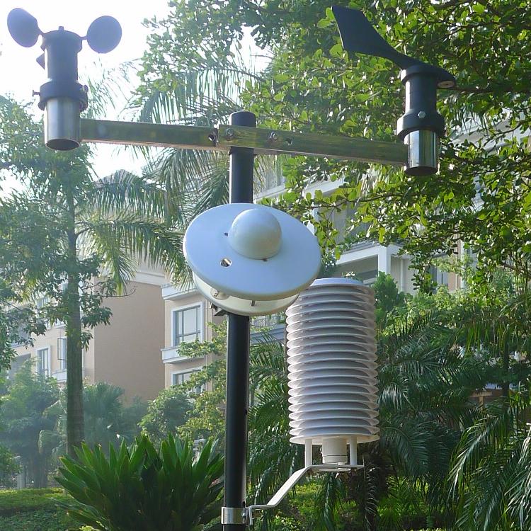 厂家直销 绿光TWS-5B自动气象站多功能便携式气象站设备