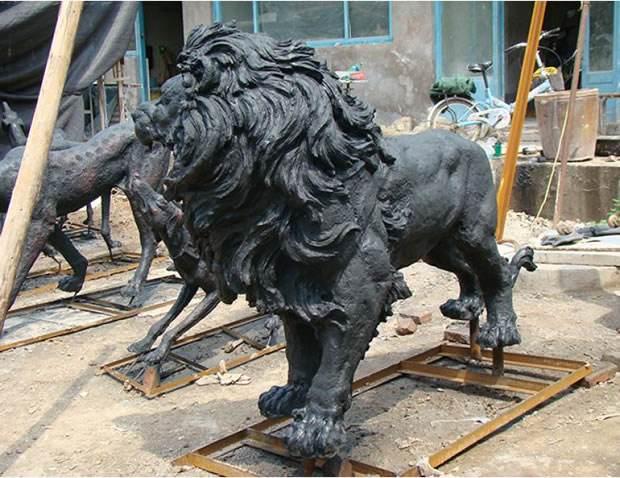 玻璃钢雕塑动物造型雕塑