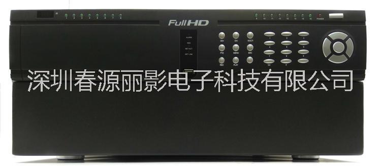 16路高清硬盘录像机 HDMI输入接口 VGA输入