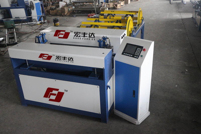 供应北京宏丰达风管生产线二线 全自动风管生产线 U型风管生产线