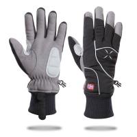 滑雪保暖手套秋冬新款专业户外骑行手套耐磨防风防水触屏手套定制