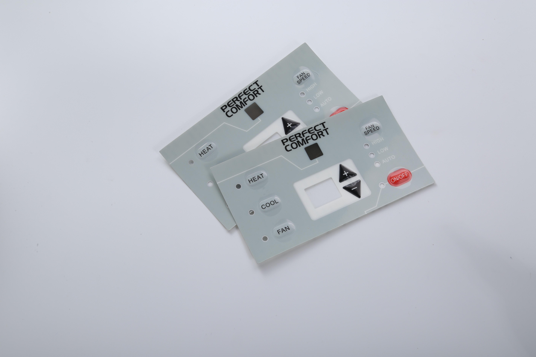 定制3M胶PVC/PET/PC按键带灯孔价格、厂家   定制3M胶PVC/PET/PC
