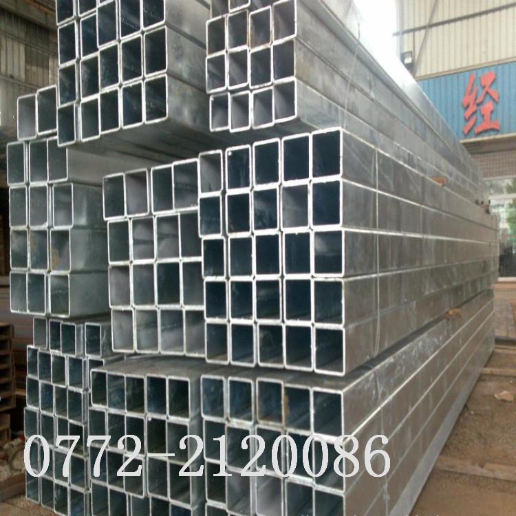 广西镀锌方管 广西柳州镀锌钢管 规格齐全价格实惠