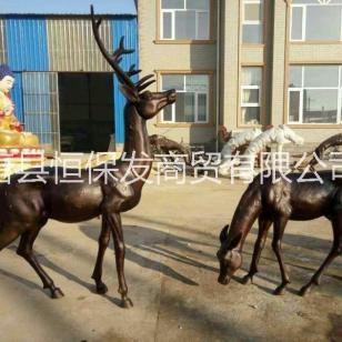供应铜雕鹿图片