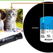 刻度式犬猫尿比重折射仪-双标度图片