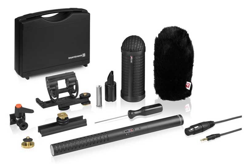 拜亚动力MCE 85 BA Full Camera Kit 相机套装beyerdynamic 相机套装万能相机配件电容麦
