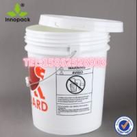 供应全新PP 18L美式塑料桶 18公斤美式20L升大口美式桶 美式桶18L 18升美式塑料桶