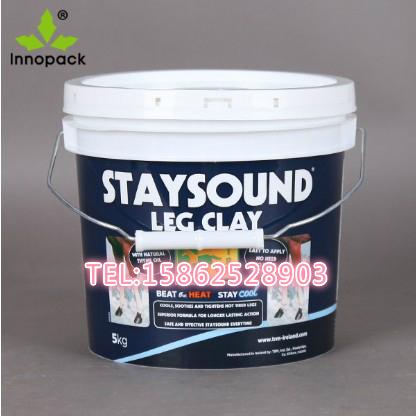 供应美式1加仑塑料桶 3.8升KG公斤美式塑料桶 1加仑塑料圆桶 1加仑美式塑料桶