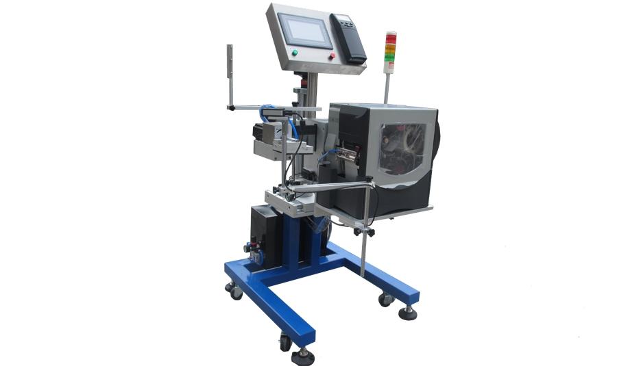 厂家直销平面贴标机 YZ-AP902侧面即时食品化妆品盒 手持贴标签机