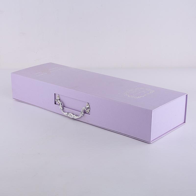 长方形手提鲜花包装礼盒 定制款长方形手提鲜花包装礼盒香皂玫瑰花花束包装盒手提鲜花盒