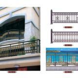 广东铝艺大门护栏,别墅高档门,铝合金大门护栏,亚坤金属铝艺
