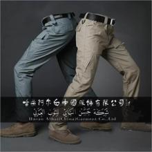 春秋季男士工装裤多口袋裤大量批发