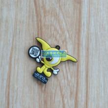 供应塑胶PVC钥匙扣 厂家定制创意钥匙扣礼品 PVC钥匙扣挂件批发