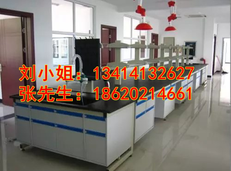 化验实验室操作台边台中央台家具厂家批发   汕头市实验室家具厂家