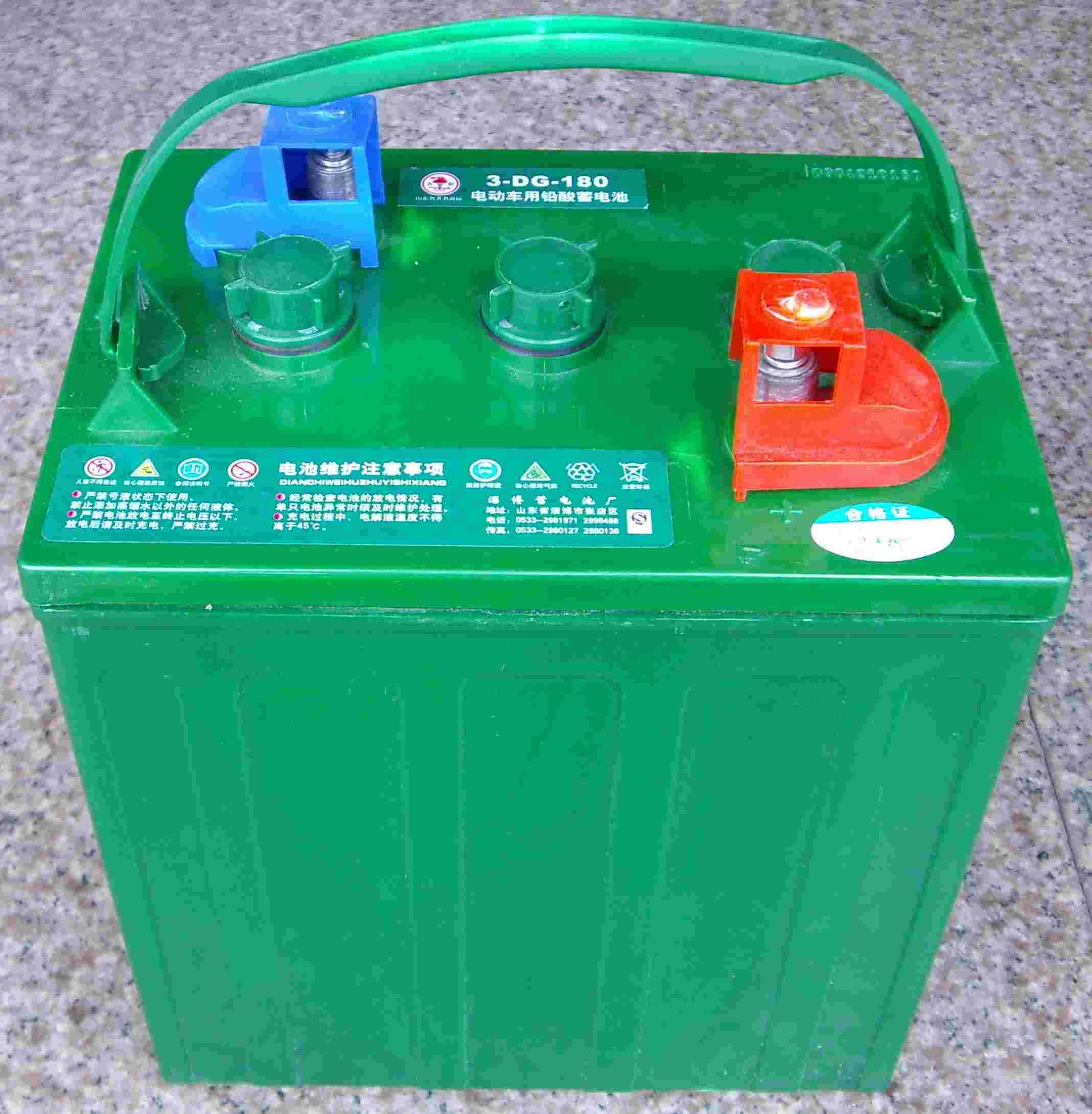 厂家直销观光车蓄电池 3DG-230 观光车电池 6V230AH 火炬蓄电池 电动游览车电瓶 火炬电瓶